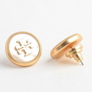 Tory Burch Semiprecious Stone Stud Earring
